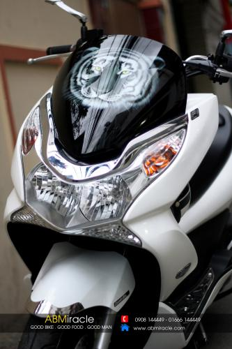 Honda PCX WHITE TIGER