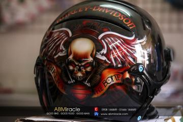 MBH Harley SKULL