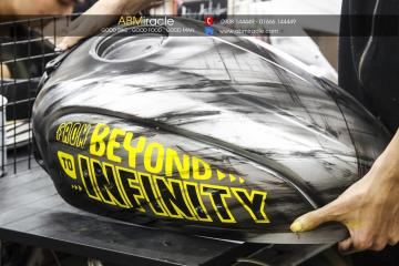 Ducati Scrambler Gas Tank FROM BEYOND TO INFINITY