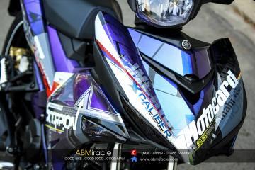 Yamaha Exciter 150 sơn dàn áo chuyển màu của Biker Đà Lạt