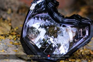Chóa đèn Honda SH Mode XÁM KHÓI
