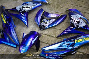 Yamaha Exciter 150 SHARKS PLANET