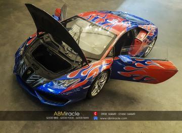 Mô hình 1/8 Lamborghini Huracán OPTIMUS PRIME
