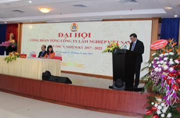 Đại hội Công đoàn Tổng công ty Lâm nghiệp Việt Nam lần thứ 12
