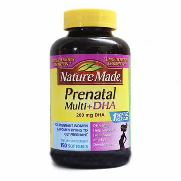 Vitamin tổng hợp cho bà bầu Prenatal Multi DHA 150 viên