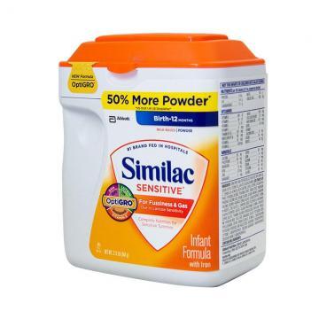 Sữa Similac Sensitive chống đầy hơi và nôn trớ của Mỹ  964g