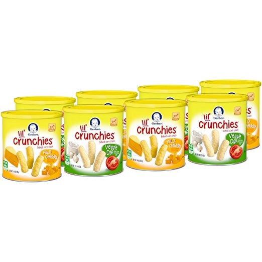 Bánh ăn dặm - Gerber Lil' Crunchies Veggie Dip