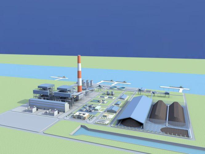 Long Phu 1 Thermal power Plant